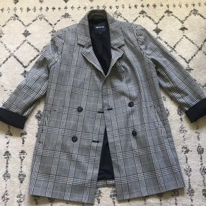 Madewell plaid Caldwell jacket blazer
